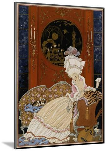 Love Letter-Georges Barbier-Mounted Giclee Print