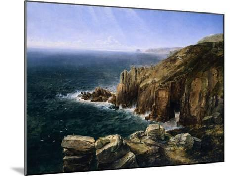The Land's End, Cornwall-Thomas Creswick-Mounted Giclee Print