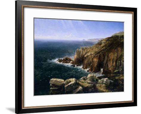 The Land's End, Cornwall-Thomas Creswick-Framed Art Print