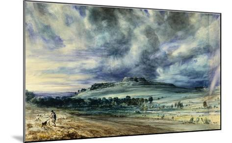 Old Sarum-John Constable-Mounted Giclee Print