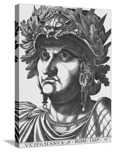 Vespasian, Emperor of Rome-Antonius-Stretched Canvas Print