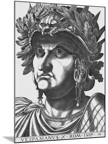 Vespasian, Emperor of Rome-Antonius-Mounted Giclee Print