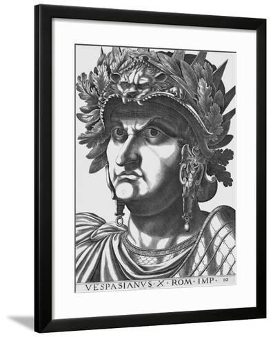 Vespasian, Emperor of Rome-Antonius-Framed Art Print