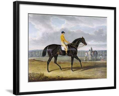 Aquatint by Thomas Sutherland After Jack Spigot, Winner 1821-John Frederick Herring I-Framed Art Print