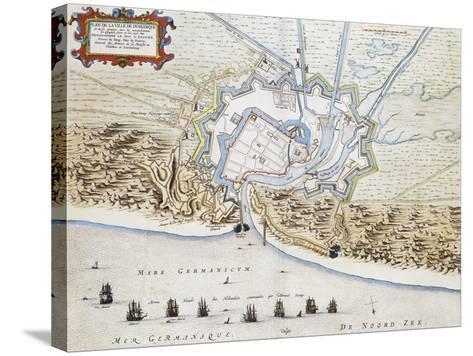 City of Dunkirk-Jan Blaeuw-Stretched Canvas Print