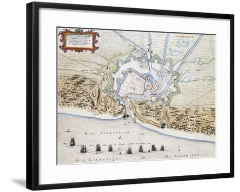 City of Dunkirk-Jan Blaeuw-Framed Art Print