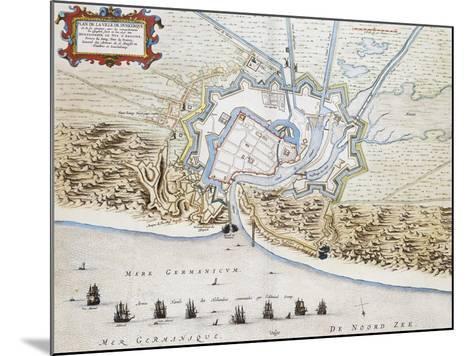 City of Dunkirk-Jan Blaeuw-Mounted Giclee Print