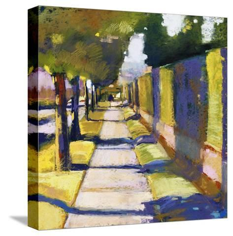 Hedge Wall-Lou Wall-Stretched Canvas Print