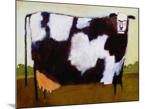 Cow-Lou Wall-Mounted Giclee Print