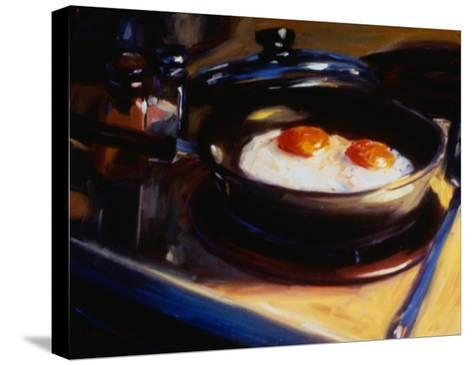 Eggs Howie's Way II-Pam Ingalls-Stretched Canvas Print