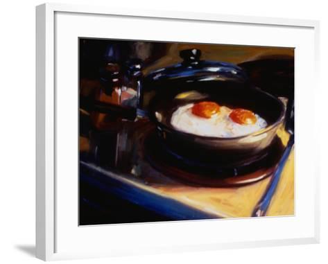 Eggs Howie's Way II-Pam Ingalls-Framed Art Print