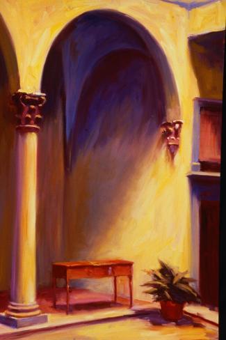 Palazzo Antinori-Pam Ingalls-Stretched Canvas Print