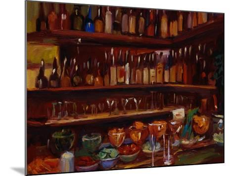 Behind the Bar, Florence-Pam Ingalls-Mounted Giclee Print