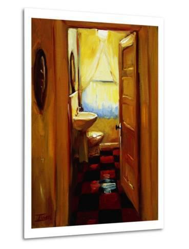 Marci's Bathroom-Pam Ingalls-Metal Print