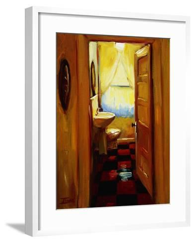 Marci's Bathroom-Pam Ingalls-Framed Art Print