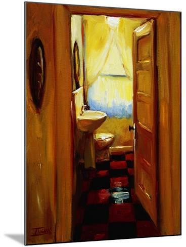 Marci's Bathroom-Pam Ingalls-Mounted Giclee Print