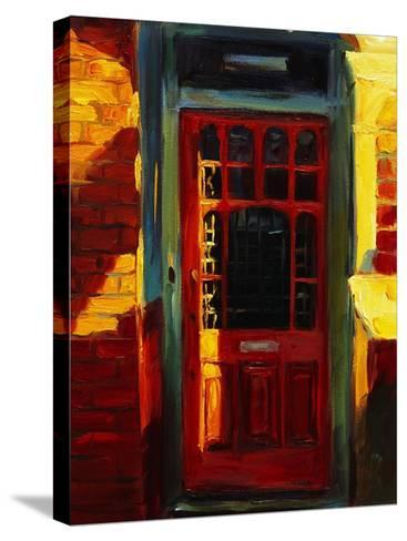 Stephanie's Door-Pam Ingalls-Stretched Canvas Print