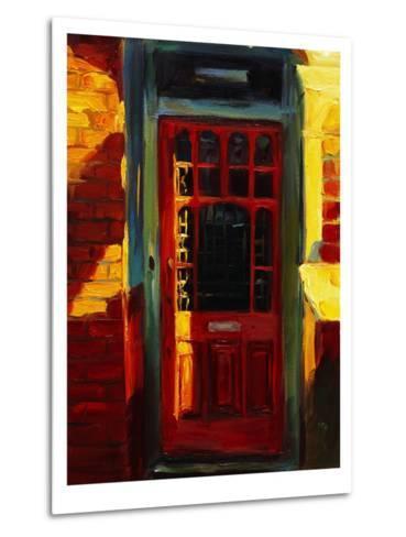 Stephanie's Door-Pam Ingalls-Metal Print
