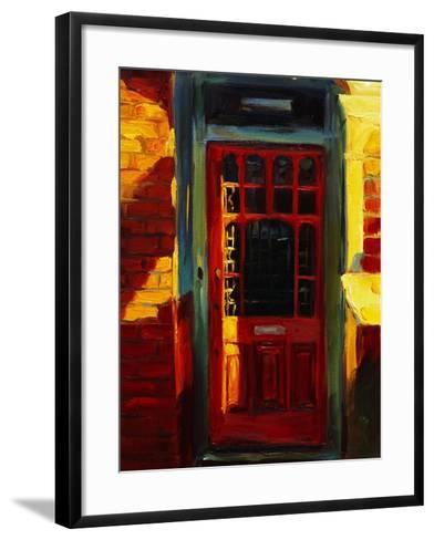 Stephanie's Door-Pam Ingalls-Framed Art Print