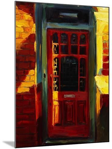 Stephanie's Door-Pam Ingalls-Mounted Giclee Print