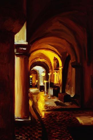 Inner Sanctum-Pam Ingalls-Stretched Canvas Print