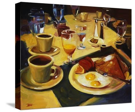 Breakfast-Pam Ingalls-Stretched Canvas Print