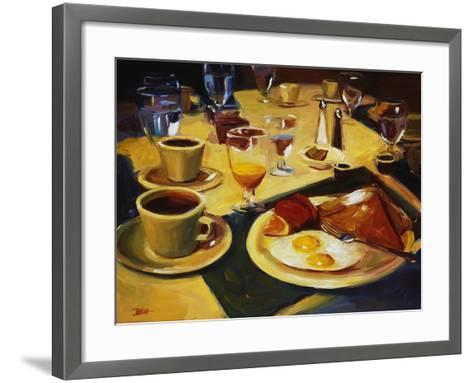 Breakfast-Pam Ingalls-Framed Art Print