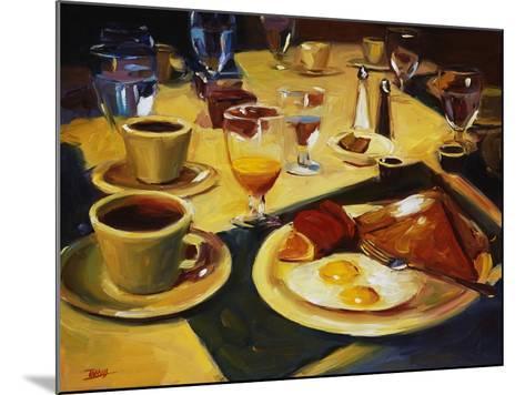 Breakfast-Pam Ingalls-Mounted Giclee Print