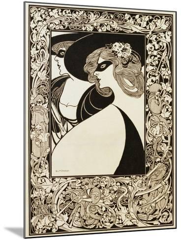 Masquerade Giclee Print by William H. Bradley   Art.com