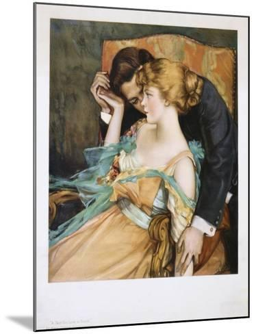 A Skin You Love to Touch-Mary Greene Blumenschein-Mounted Giclee Print