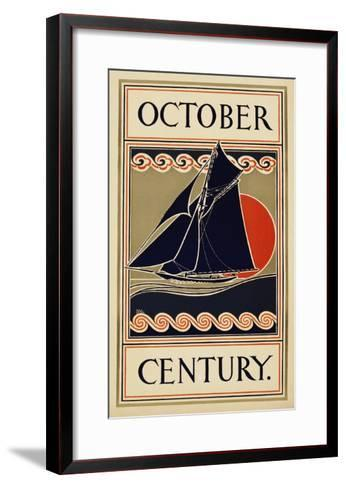 October Century-H^m^ Lawrence-Framed Art Print