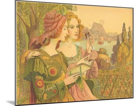 Golden Legend-Armand Point-Mounted Giclee Print