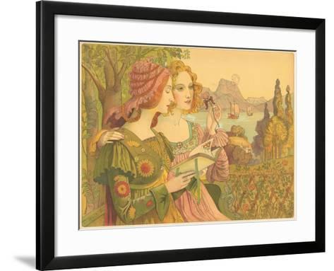 Golden Legend-Armand Point-Framed Art Print