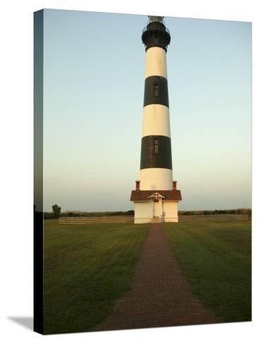 Bodie Island Lighthouse--Stretched Canvas Print