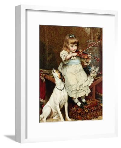 The Broken String-Charles Burton Barber-Framed Art Print
