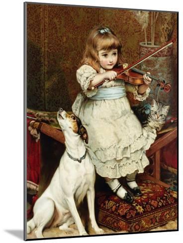 The Broken String-Charles Burton Barber-Mounted Giclee Print