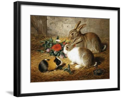 Good Friends-Alfred Barber-Framed Art Print