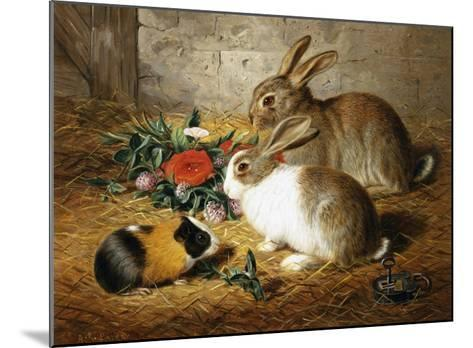 Good Friends-Alfred Barber-Mounted Giclee Print
