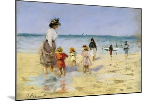 Going for a Paddle-Emile Cagniart-Mounted Giclee Print