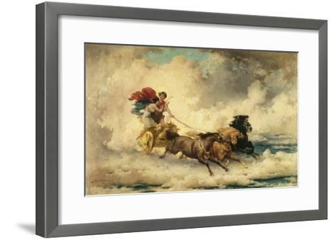 Apollo in the Chariot of the Sun-Frederik Arthur Bridgman-Framed Art Print