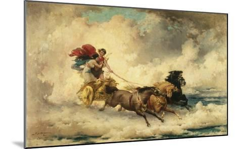 Apollo in the Chariot of the Sun-Frederik Arthur Bridgman-Mounted Giclee Print