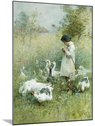 Dreaming-Luigi Chialiva-Mounted Giclee Print