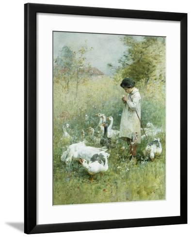 Dreaming-Luigi Chialiva-Framed Art Print