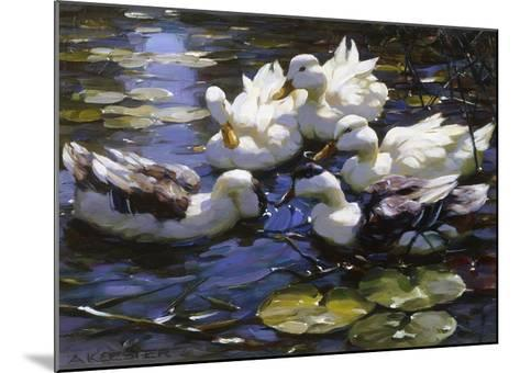 Ducks on the River-Alexander Max Koester-Mounted Giclee Print