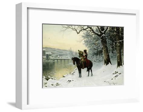 A Christmas Trumpet Call-Robert Assmus-Framed Art Print