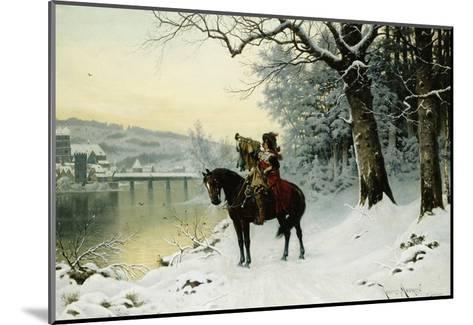 A Christmas Trumpet Call-Robert Assmus-Mounted Giclee Print