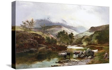 On the Falloch, Scotland-Sidney Richard Percy-Stretched Canvas Print