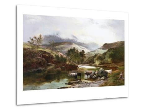 On the Falloch, Scotland-Sidney Richard Percy-Metal Print