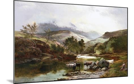 On the Falloch, Scotland-Sidney Richard Percy-Mounted Giclee Print
