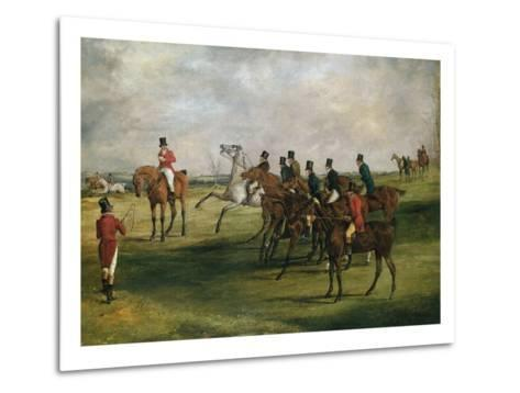At the Start-Henry Thomas Alken-Metal Print